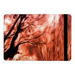 Fire In The Forest Artistic Reproduction Of A Forest Photo Samsung Galaxy Tab Pro 10 1  Flip Case