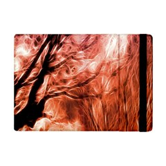 Fire In The Forest Artistic Reproduction Of A Forest Photo Ipad Mini 2 Flip Cases