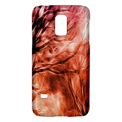 Fire In The Forest Artistic Reproduction Of A Forest Photo Galaxy S5 Mini