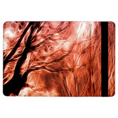 Fire In The Forest Artistic Reproduction Of A Forest Photo Ipad Air 2 Flip
