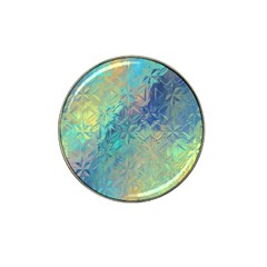 Colorful Patterned Glass Texture Background Hat Clip Ball Marker (10 Pack)