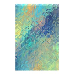 Colorful Patterned Glass Texture Background Shower Curtain 48  x 72  (Small)