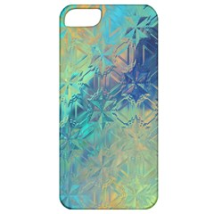 Colorful Patterned Glass Texture Background Apple iPhone 5 Classic Hardshell Case