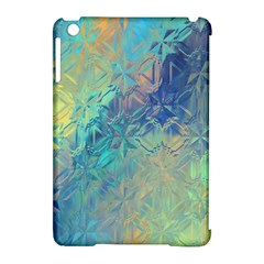 Colorful Patterned Glass Texture Background Apple iPad Mini Hardshell Case (Compatible with Smart Cover)
