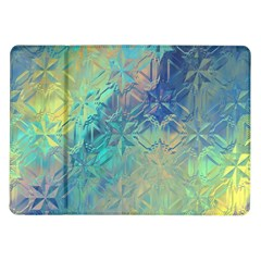 Colorful Patterned Glass Texture Background Samsung Galaxy Tab 10.1  P7500 Flip Case