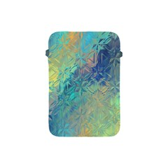 Colorful Patterned Glass Texture Background Apple iPad Mini Protective Soft Cases