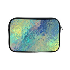 Colorful Patterned Glass Texture Background Apple iPad Mini Zipper Cases