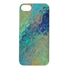 Colorful Patterned Glass Texture Background Apple Iphone 5s/ Se Hardshell Case