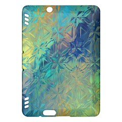 Colorful Patterned Glass Texture Background Kindle Fire Hdx Hardshell Case