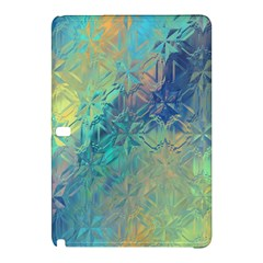 Colorful Patterned Glass Texture Background Samsung Galaxy Tab Pro 10.1 Hardshell Case