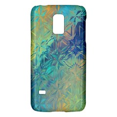 Colorful Patterned Glass Texture Background Galaxy S5 Mini