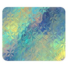Colorful Patterned Glass Texture Background Double Sided Flano Blanket (Small)