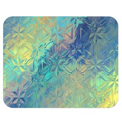 Colorful Patterned Glass Texture Background Double Sided Flano Blanket (medium)