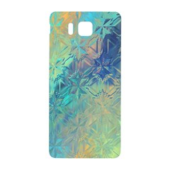 Colorful Patterned Glass Texture Background Samsung Galaxy Alpha Hardshell Back Case