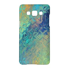 Colorful Patterned Glass Texture Background Samsung Galaxy A5 Hardshell Case