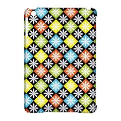 Diamond Argyle Pattern Colorful Diamonds On Argyle Style Apple Ipad Mini Hardshell Case (compatible With Smart Cover)