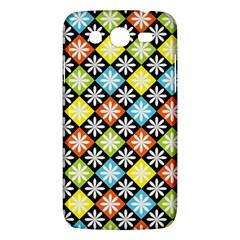Diamond Argyle Pattern Colorful Diamonds On Argyle Style Samsung Galaxy Mega 5 8 I9152 Hardshell Case