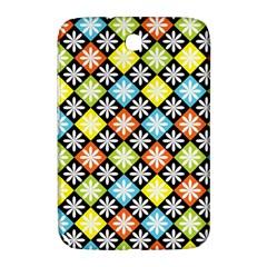 Diamond Argyle Pattern Colorful Diamonds On Argyle Style Samsung Galaxy Note 8.0 N5100 Hardshell Case