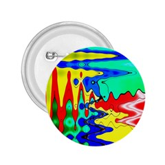 Bright Colours Abstract 2.25  Buttons
