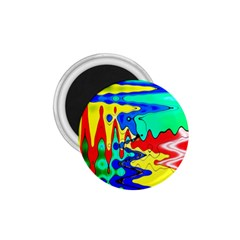 Bright Colours Abstract 1 75  Magnets