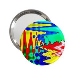 Bright Colours Abstract 2 25  Handbag Mirrors