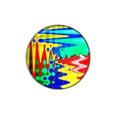Bright Colours Abstract Hat Clip Ball Marker (10 Pack)