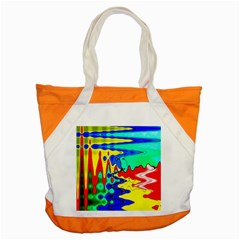 Bright Colours Abstract Accent Tote Bag