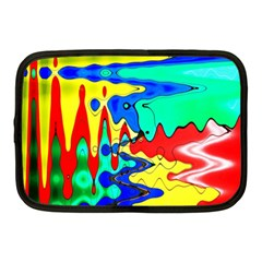 Bright Colours Abstract Netbook Case (medium)