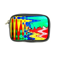 Bright Colours Abstract Coin Purse