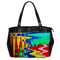Bright Colours Abstract Office Handbags
