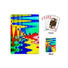 Bright Colours Abstract Playing Cards (Mini)