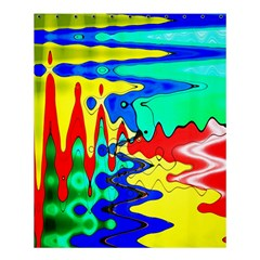 Bright Colours Abstract Shower Curtain 60  X 72  (medium)
