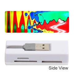 Bright Colours Abstract Memory Card Reader (stick)
