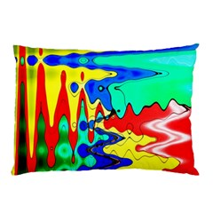 Bright Colours Abstract Pillow Case (two Sides)