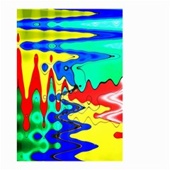 Bright Colours Abstract Small Garden Flag (two Sides)