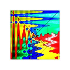 Bright Colours Abstract Acrylic Tangram Puzzle (4  X 4 )