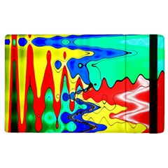Bright Colours Abstract Apple Ipad 3/4 Flip Case