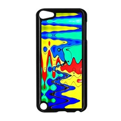 Bright Colours Abstract Apple iPod Touch 5 Case (Black)
