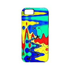 Bright Colours Abstract Apple iPhone 5 Classic Hardshell Case (PC+Silicone)