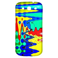 Bright Colours Abstract Samsung Galaxy S3 S III Classic Hardshell Back Case