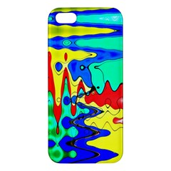 Bright Colours Abstract Apple Iphone 5 Premium Hardshell Case
