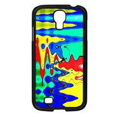 Bright Colours Abstract Samsung Galaxy S4 I9500/ I9505 Case (black)