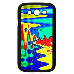 Bright Colours Abstract Samsung Galaxy Grand DUOS I9082 Case (Black)
