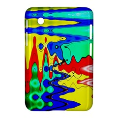 Bright Colours Abstract Samsung Galaxy Tab 2 (7 ) P3100 Hardshell Case