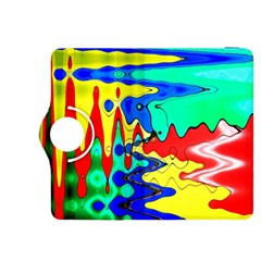 Bright Colours Abstract Kindle Fire HDX 8.9  Flip 360 Case