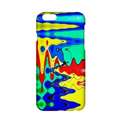 Bright Colours Abstract Apple iPhone 6/6S Hardshell Case