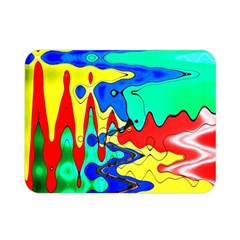 Bright Colours Abstract Double Sided Flano Blanket (mini)