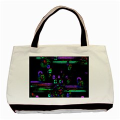 Digital Painting Colorful Colors Light Basic Tote Bag