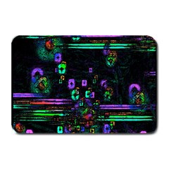 Digital Painting Colorful Colors Light Plate Mats