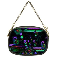 Digital Painting Colorful Colors Light Chain Purses (one Side)